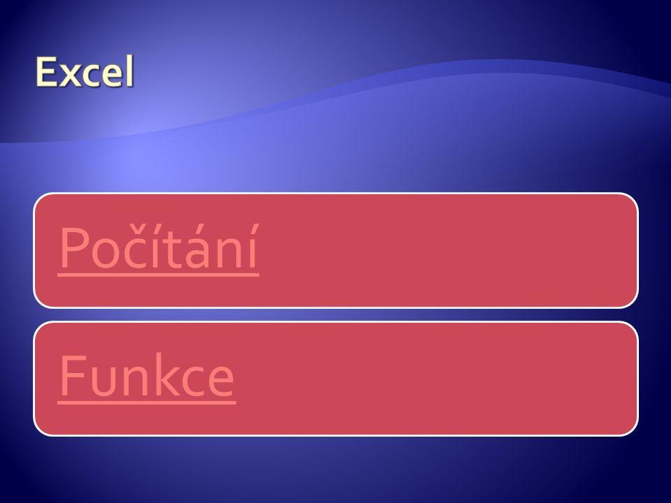 Počítání Funkce
