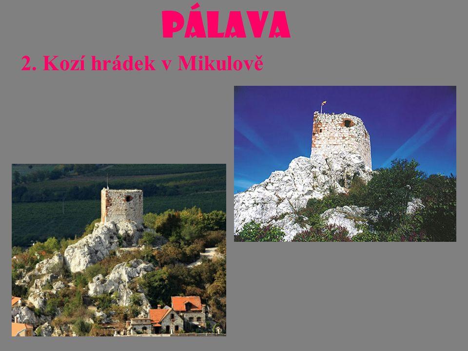 PÁLAVA 3. Dívčí hrady (Děvičky)