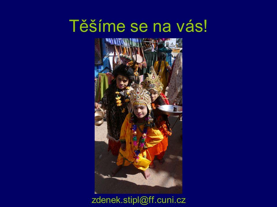 Těšíme se na vás! zdenek.stipl@ff.cuni.cz