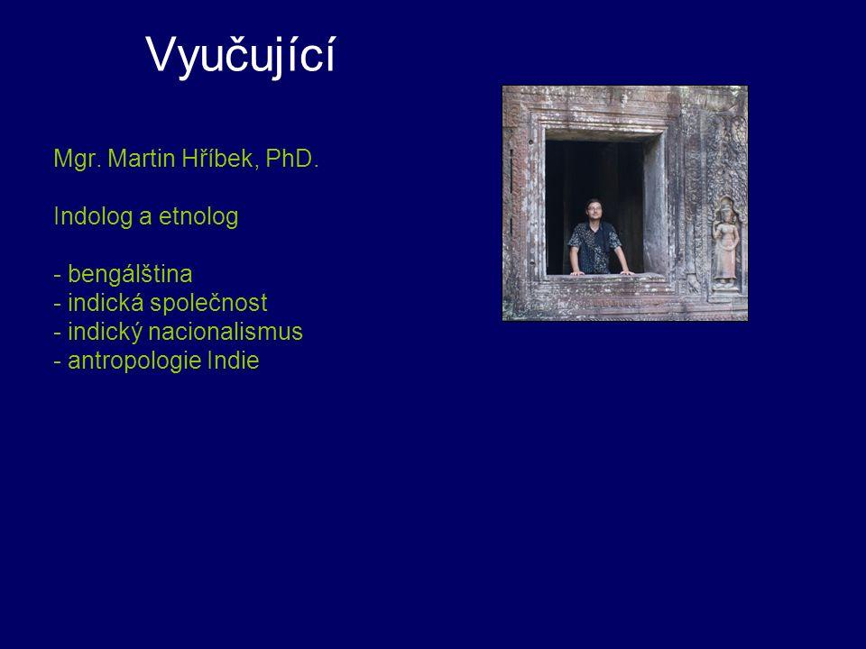 Vyučující PhDr.Ing. Soňa Bendíková, PhD.