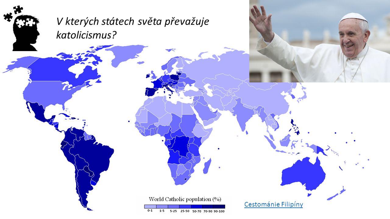 V kterých státech světa převažuje katolicismus? Cestománie Filipíny