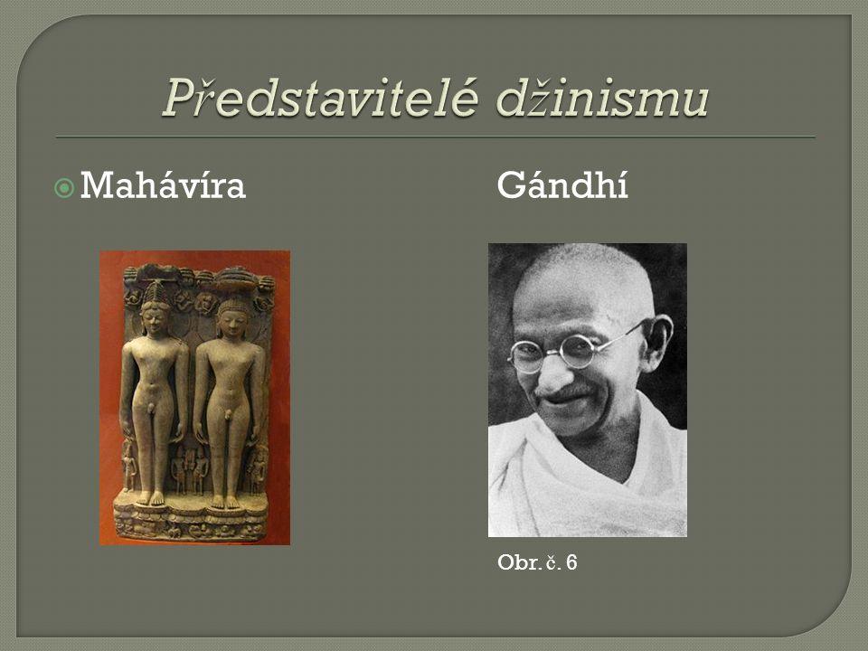  Mahávíra Gándhí Obr. č. 6