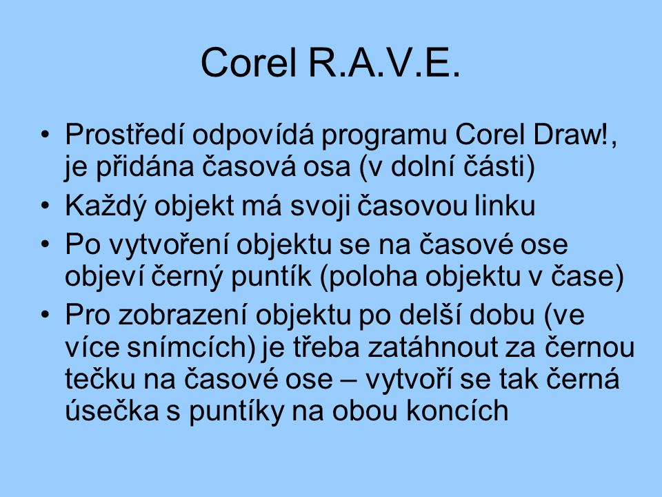 Corel R.A.V.E.