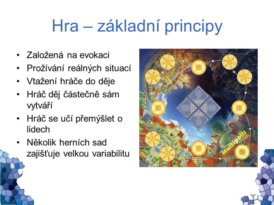 Hra – vedlejší efekty Podpora čtenářské gramotnosti Existuje možnost volby Rozhodnutí ovlivňují věci kolem nás Rozvoj dalších kompetencí v oblastech OV.