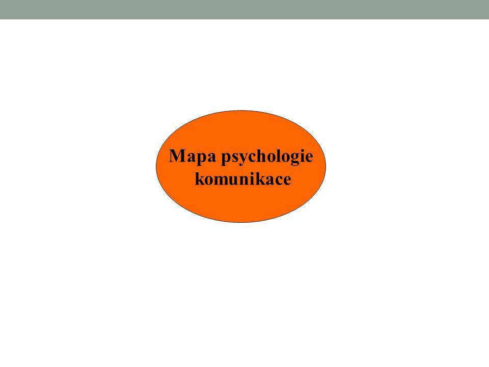 Literatura: VYBÍRAL, Z.Psychologie lidské komunikace.