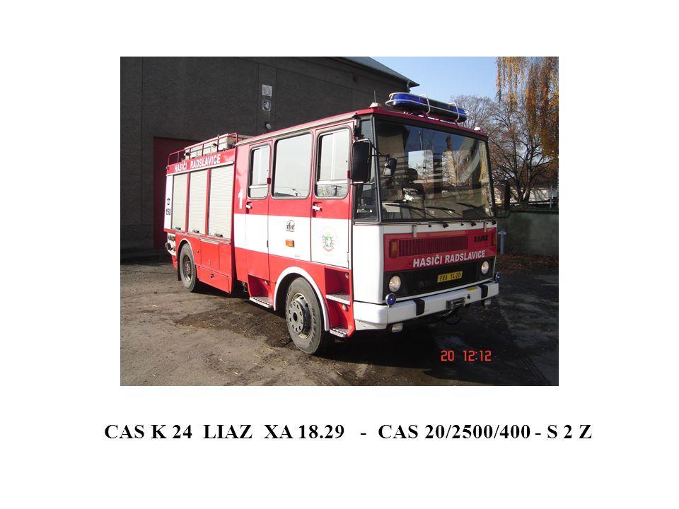 CAS K 24 LIAZ XA 18.29 - CAS 20/2500/400 - S 2 Z
