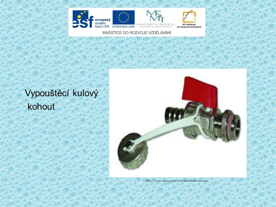 Vypouštěcí kulový kohout http://www.ivarcs.cz/cz/kulove-kohouty-na-vodu