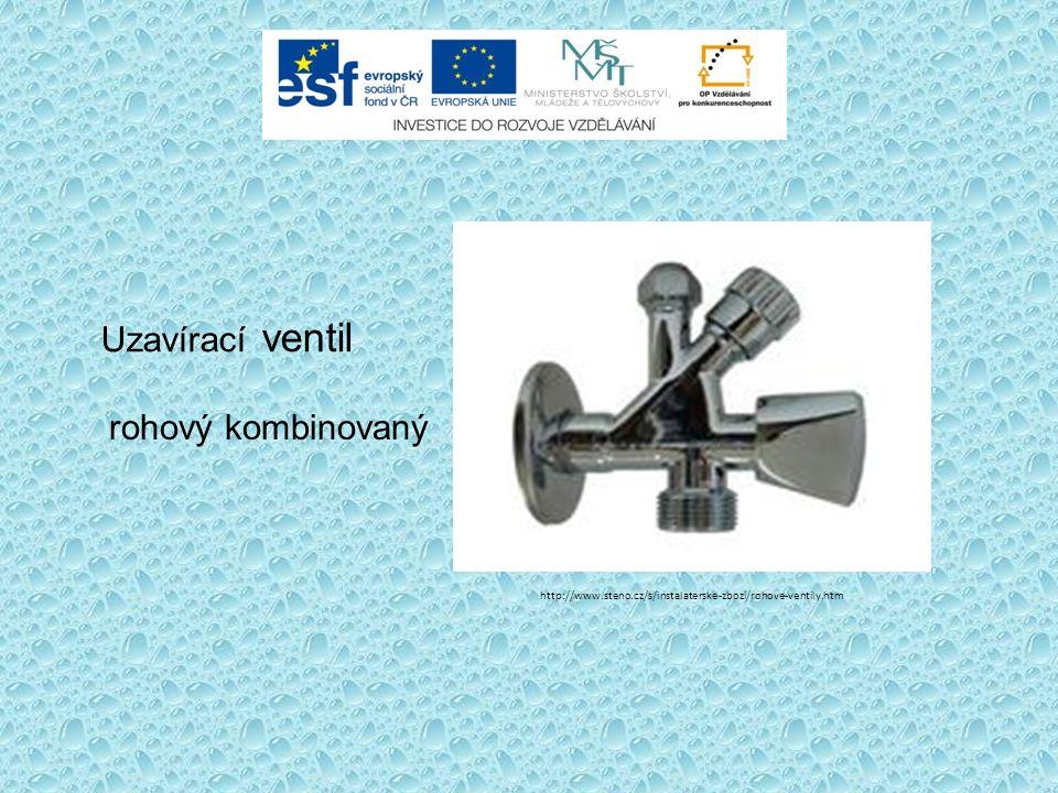 Uzavírací ventil rohový kombinovaný http://www.steno.cz/s/instalaterske-zbozi/rohove-ventily.htm