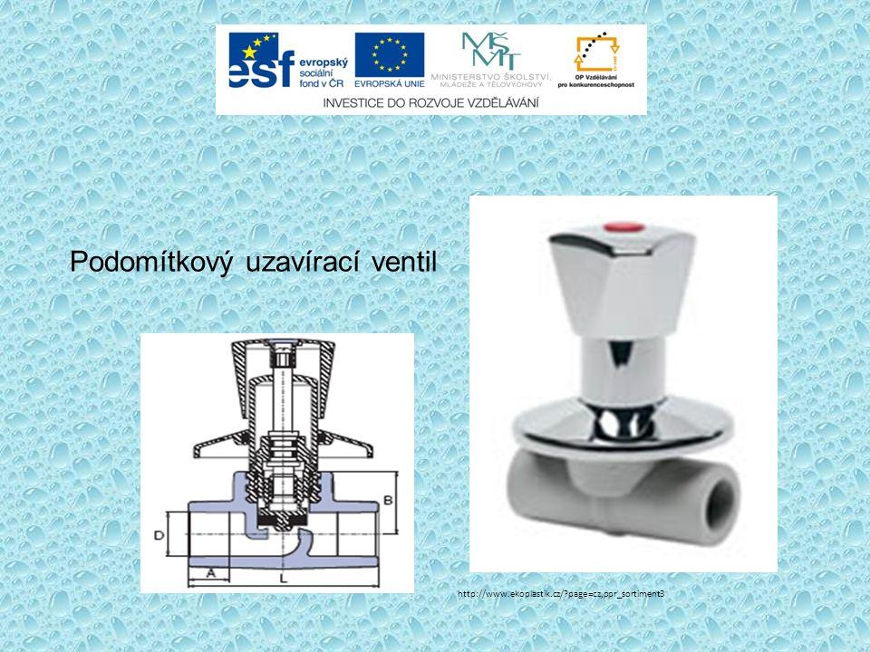 Podomítkový uzavírací ventil http://www.ekoplastik.cz/ page=cz,ppr_sortiment3