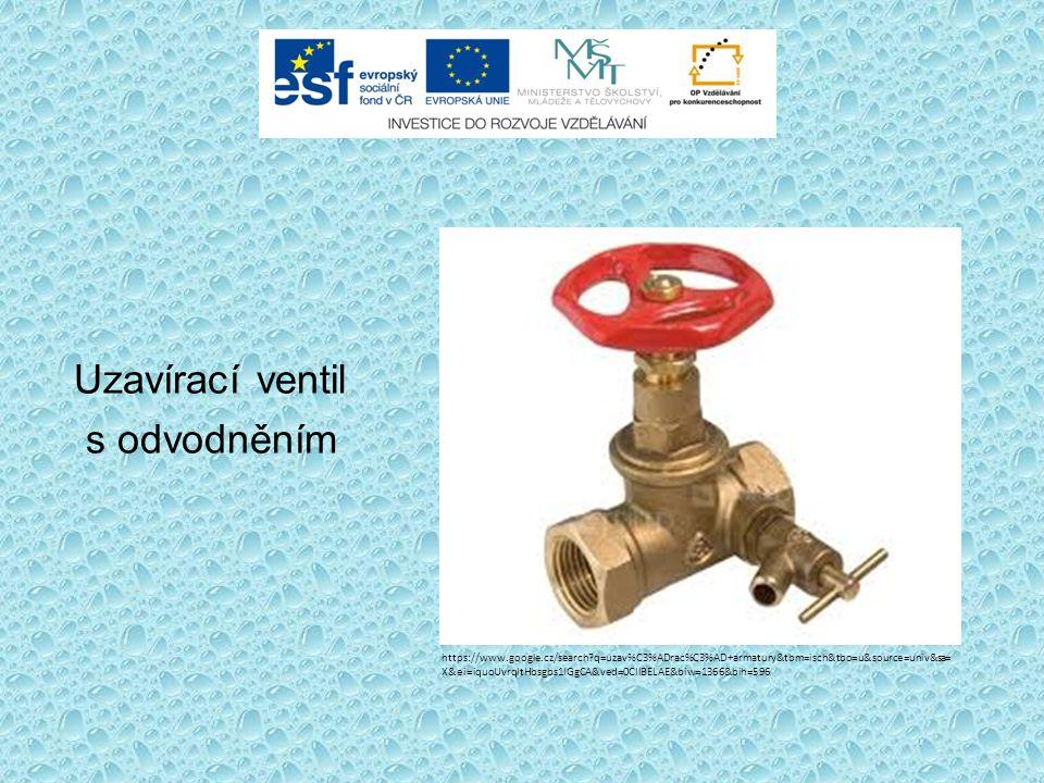 Plastový ventil přímý s odvodněním http://www.ekoplastik.cz/?page=cz,ppr_sortiment3