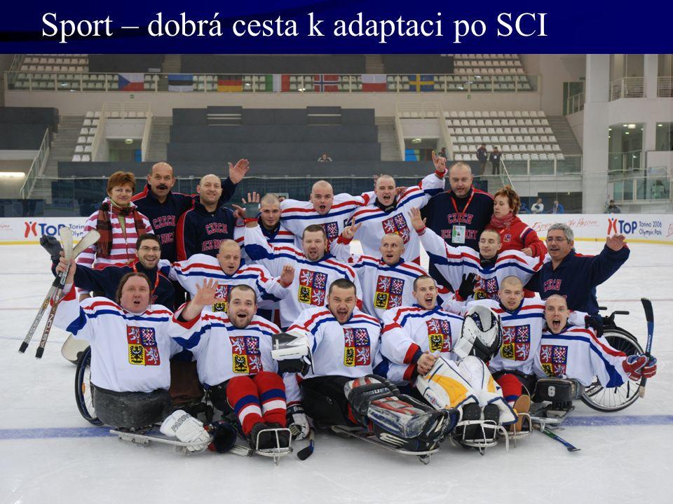 Sport – dobrá cesta k adaptaci po SCI