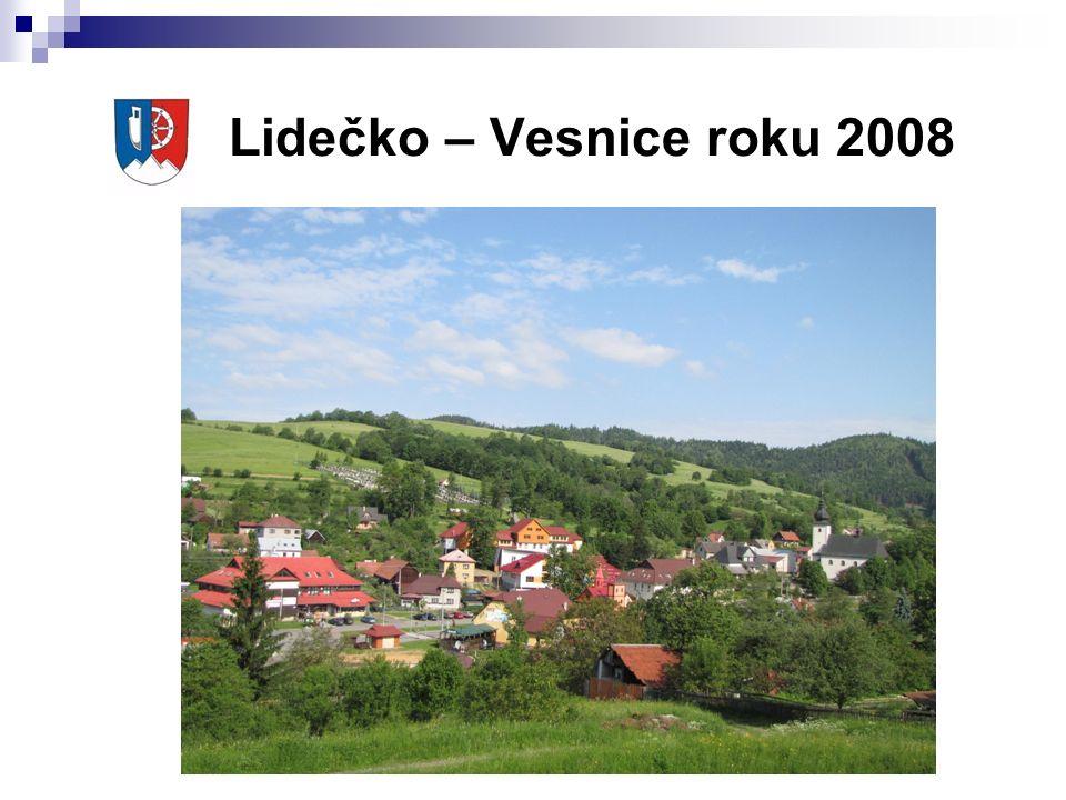 Lidečko – Vesnice roku 2008