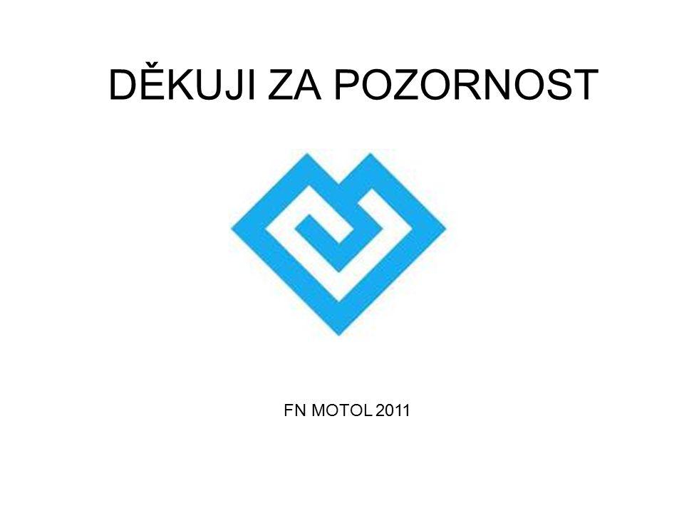 DĚKUJI ZA POZORNOST FN MOTOL 2011