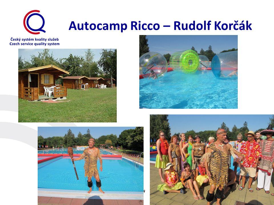 Autocamp Ricco – Rudolf Korčák