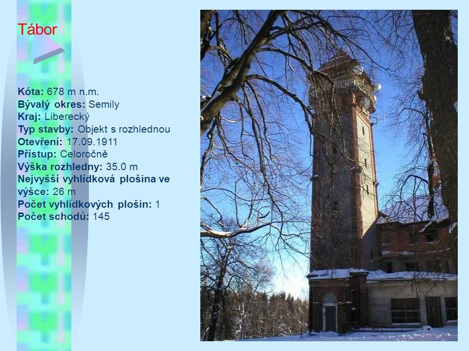 Bílov Nedaleko obce Bílov u silnice směr Fulnek – Ostrava stojí na vrcholku kopce Kanihůra (345 m.n.m.) dominanta oblasti, 62,5metrová železobetonová