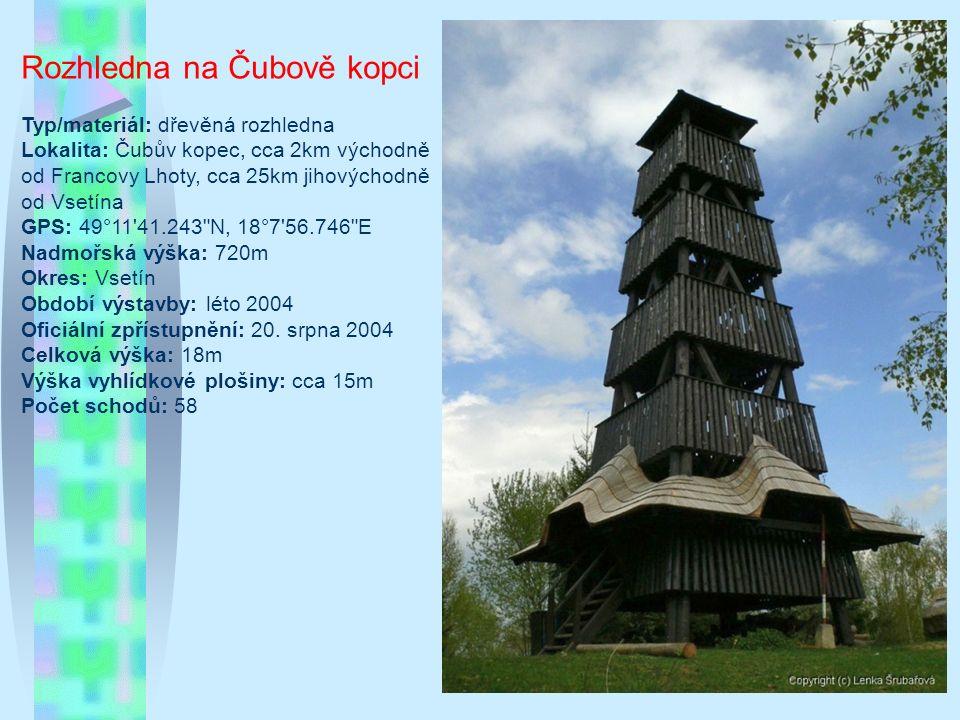 Petřín Typ/materiál: objekt s rozhlednou, zděná rozhledna; Lokalita: vrch Petřín v jižní části města Jablonec nad Nisou – část Vrkoslavice (50°42'42.6