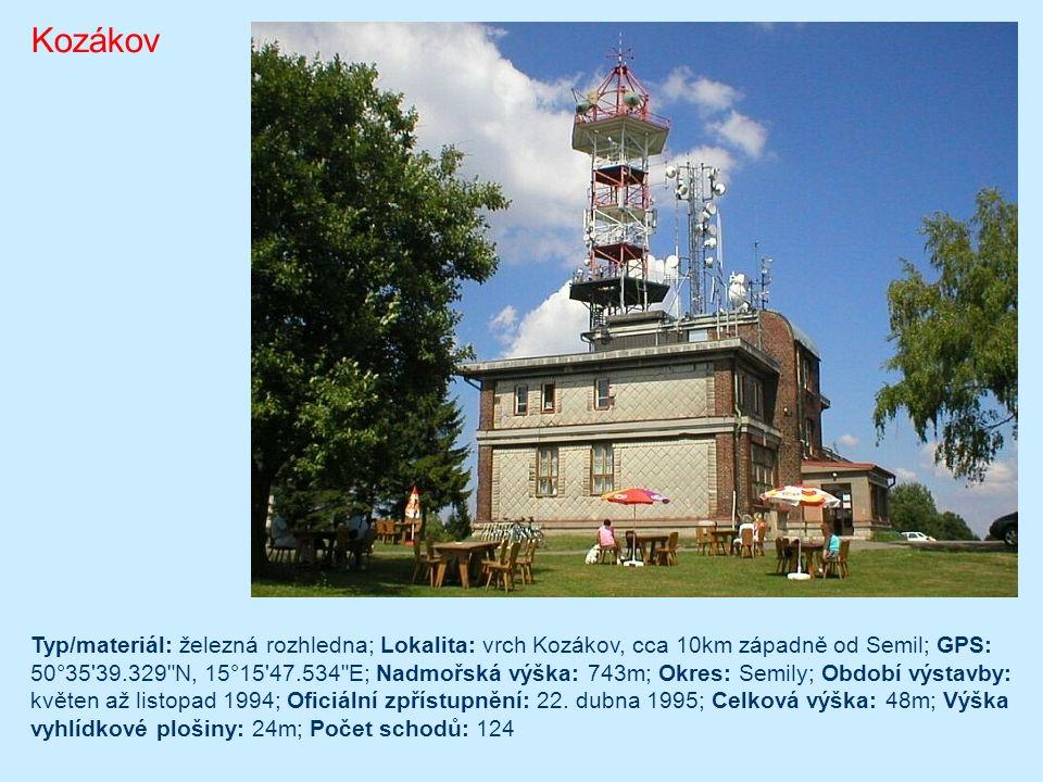 Dobrošov Jiráskova chata s rozhlednou byla postavena pro Klub českých turistů ve výšce 624 metrů nad mořem na místě původní pustevny. Autorem projektu