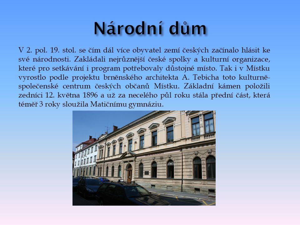 V 2. pol. 19. stol. se čím dál více obyvatel zemí českých začínalo hlásit ke své národnosti.