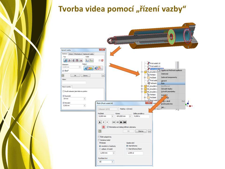 """Tvorba videa pomocí """"řízení vazby"""