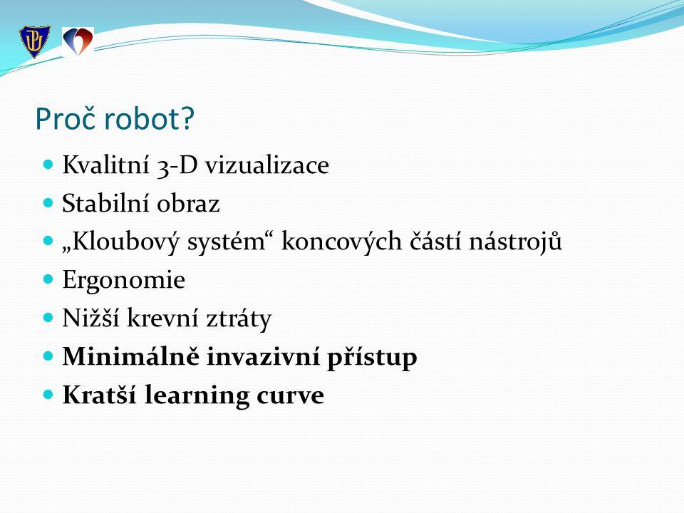 Proč robot.