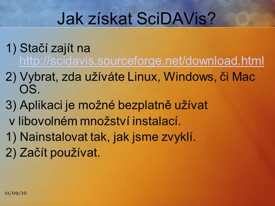11/09/10 Jak získat SciDAVis.