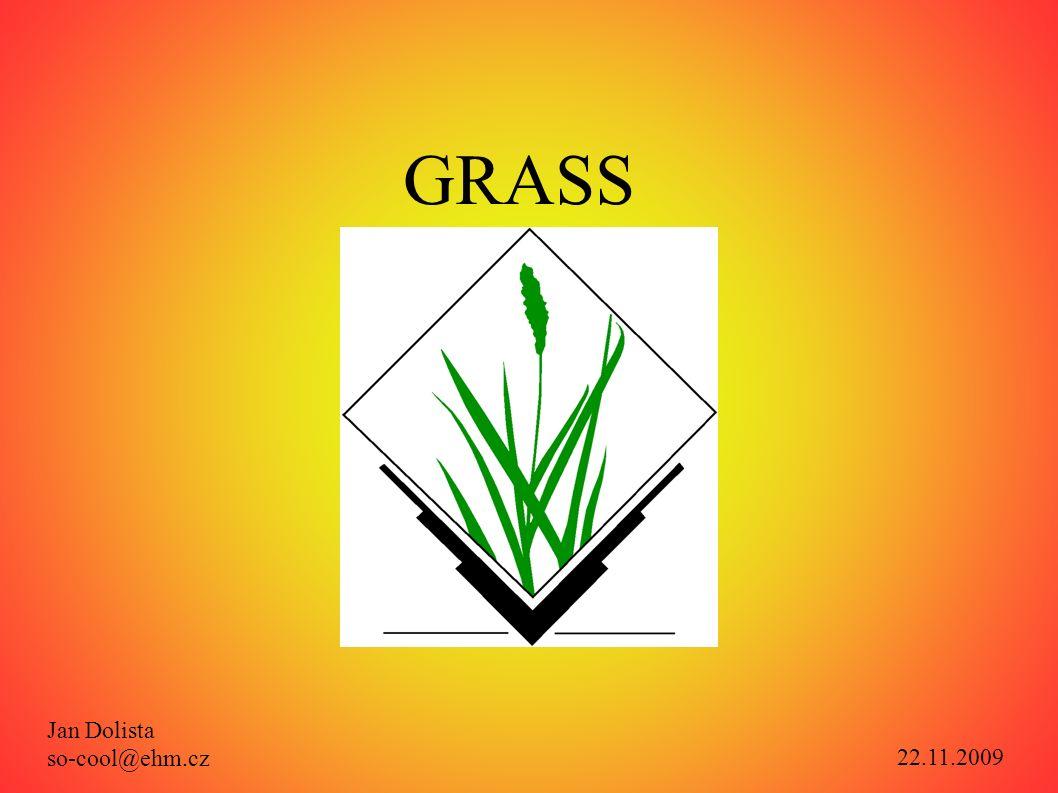 Použité zdroje: Oficiální stránky: http://www.grass.itc.ithttp://www.grass.itc.it/ resp.