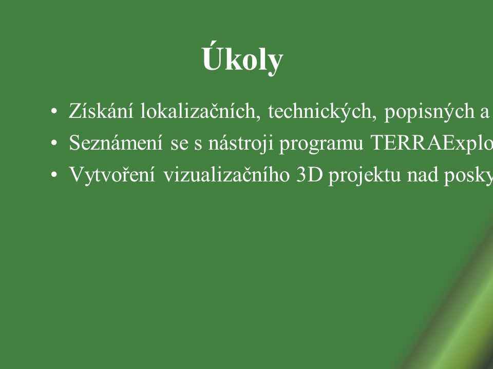 Technologie TERRA Vytvořena americkou společností Skyline Software Systéme, Inc.