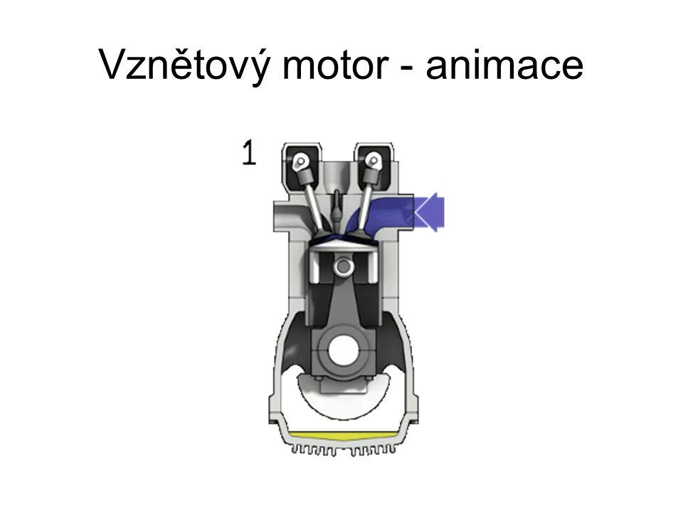 Vznětový motor - animace