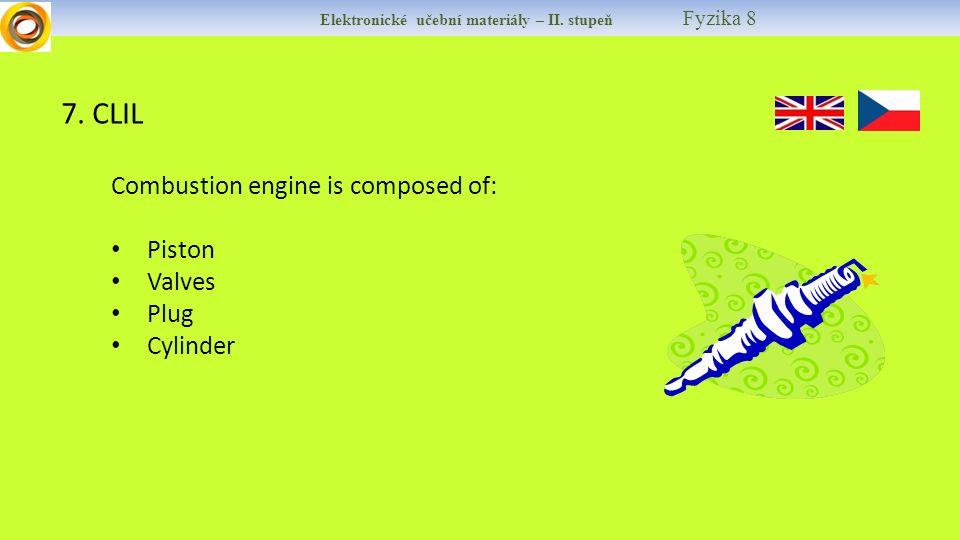 Elektronické učební materiály – II. stupeň Fyzika 8 7.