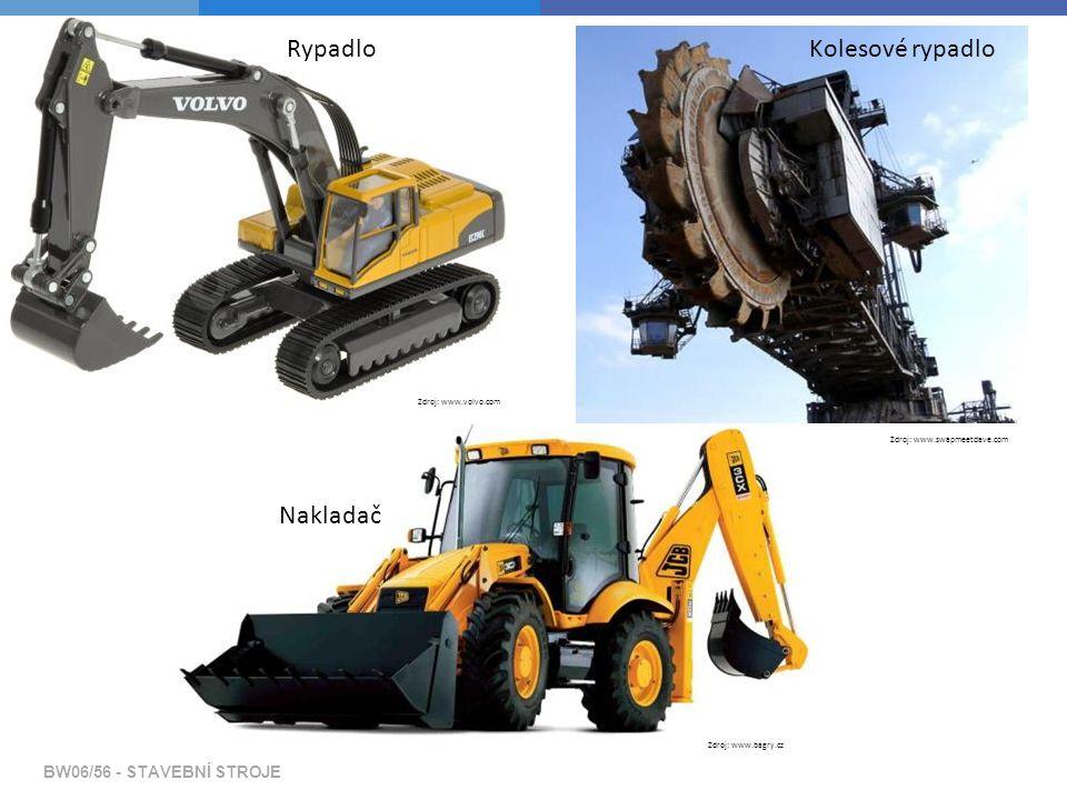 Základní členění strojů podle stavebních prací  Stroje a zařízení pro výrobu, dopravu a zpracování čerstvé betonové směsi BW06/56 - STAVEBNÍ STROJE Zdroj: www.presskithc.cz