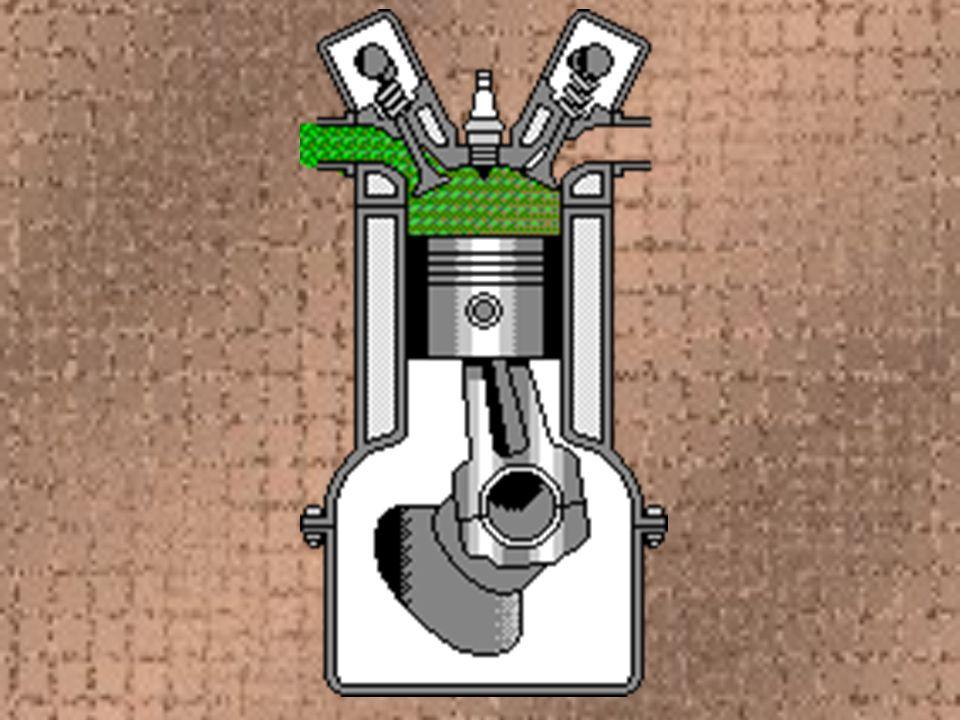 Zážehový dvoudobý motor Je jednodušší Nemá sací a výfukový ventil Má menší hmotnost Účinnost 20 % Používají ho většinou malé motocykly, travní sekačky,…