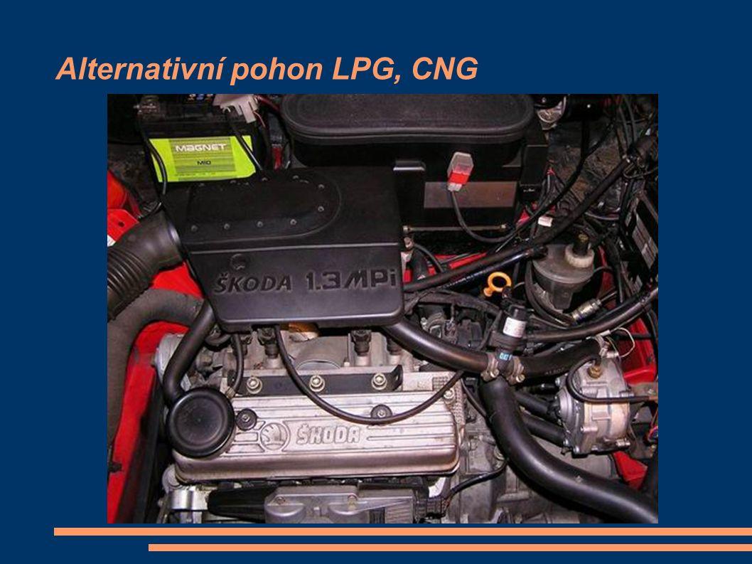 Alternativní pohon LPG, CNG