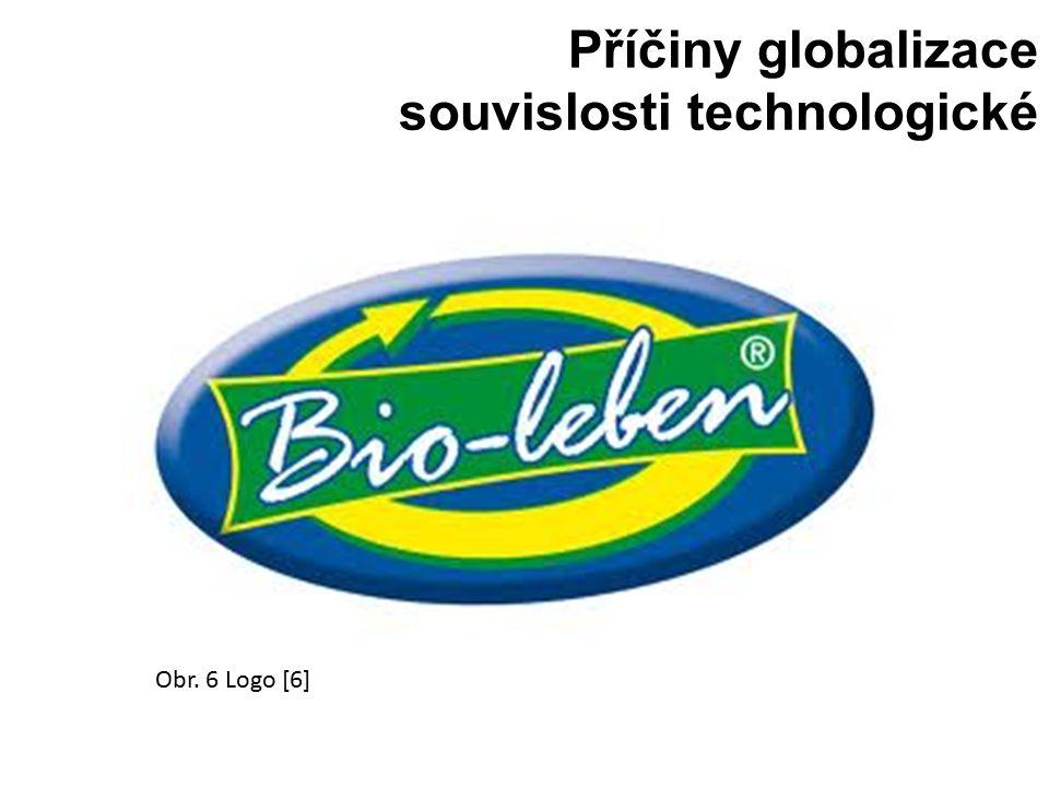 Příčiny globalizace souvislosti technologické Obr. 6 Logo [6]