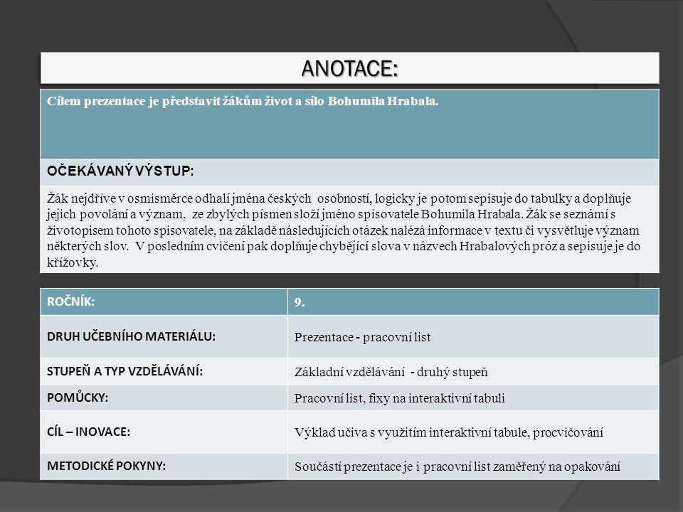 Zdroje odkazů Všechny uveřejněné odkazy [cit.2012-01-20].