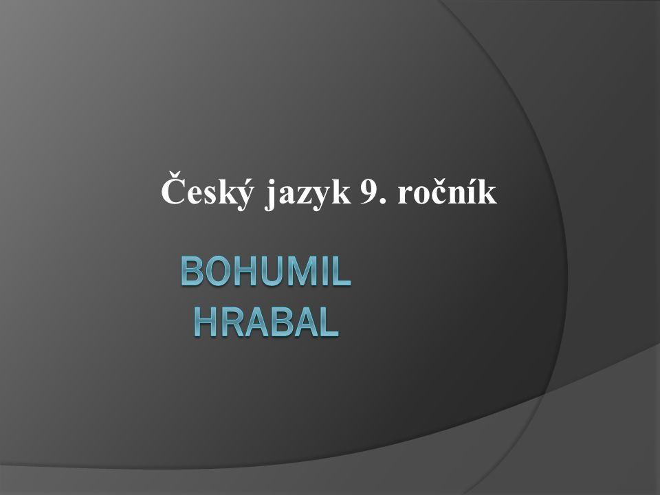 Český jazyk 9. ročník