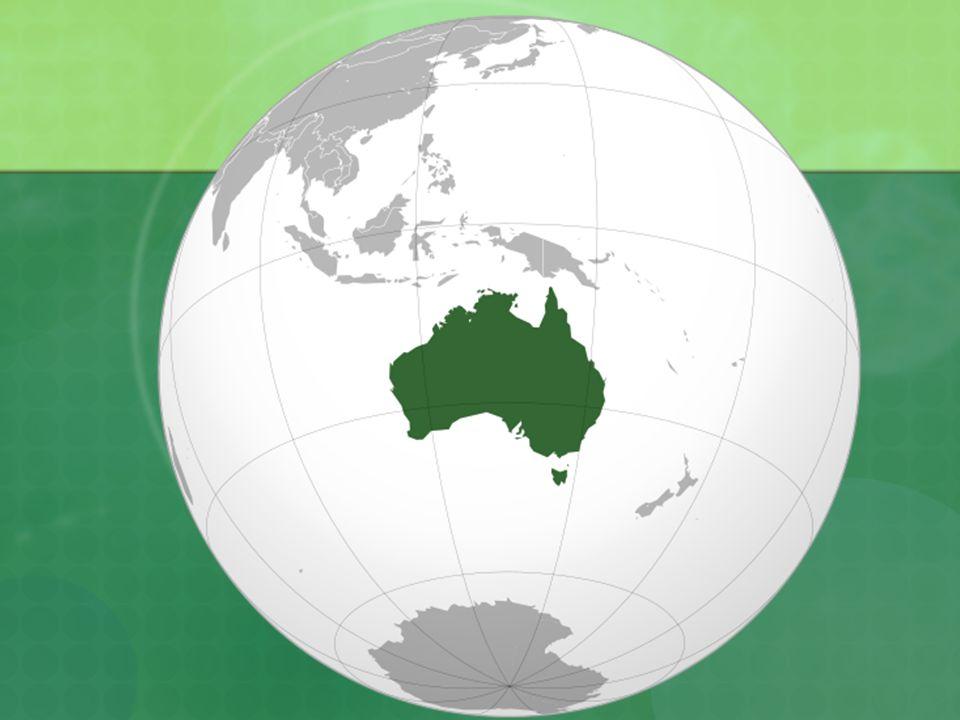 Přírodní poměry Tichý a Indický oceán Málo členité pobřeží, SV – největší korálový útes světa (2000km), Velký bariérový útes Povrch je plochý, průměrná nadm.výška je 300m, člení se na 3 základní oblasti – Západoaustralská tabule, Středoaustralská pánev a Východoaustralské pohoří