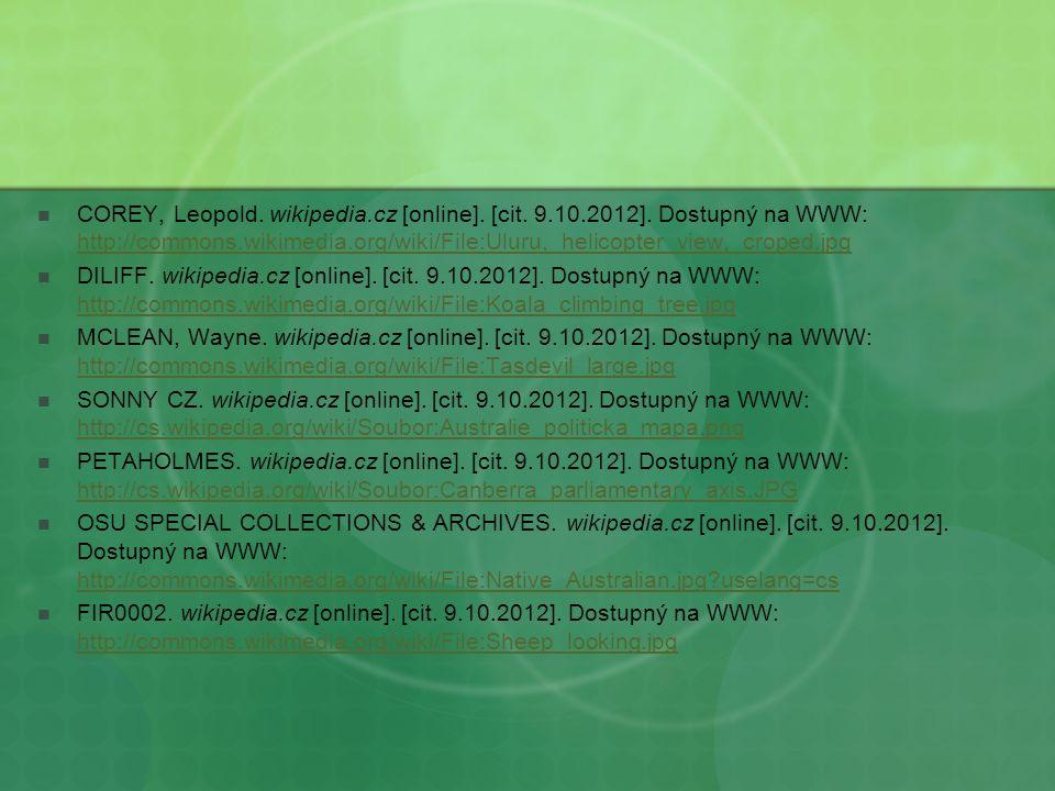 COREY, Leopold. wikipedia.cz [online]. [cit. 9.10.2012].