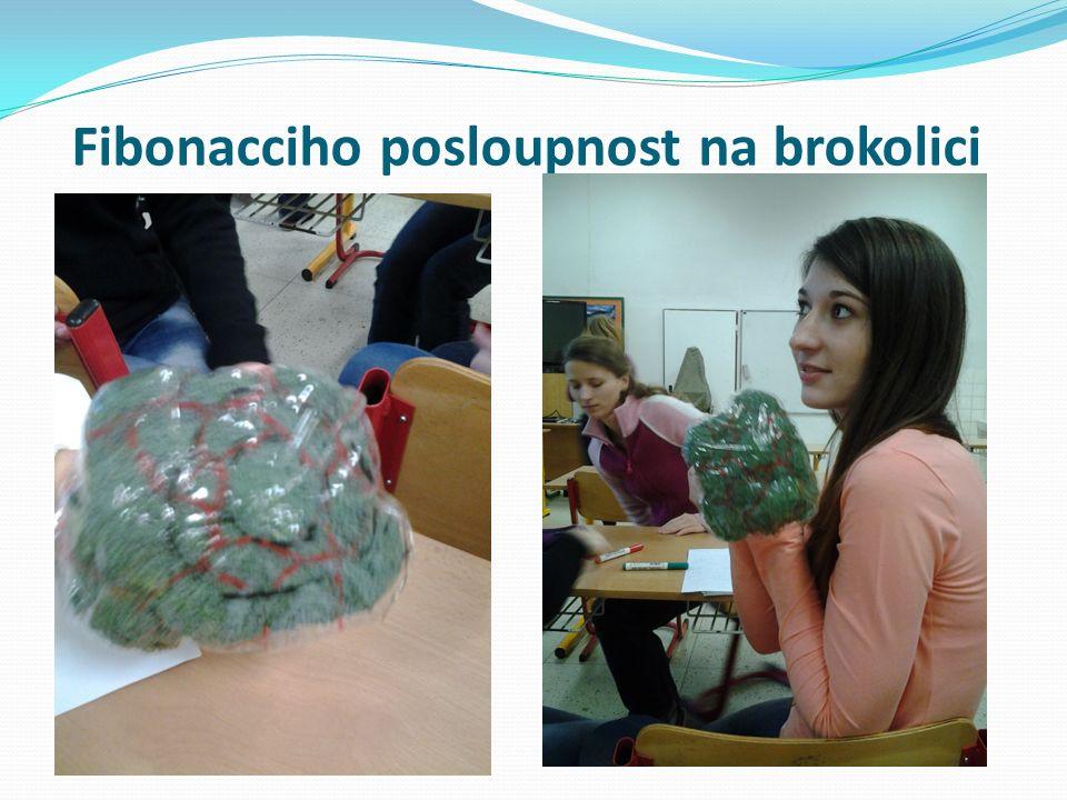 Fibonacciho posloupnost na brokolici