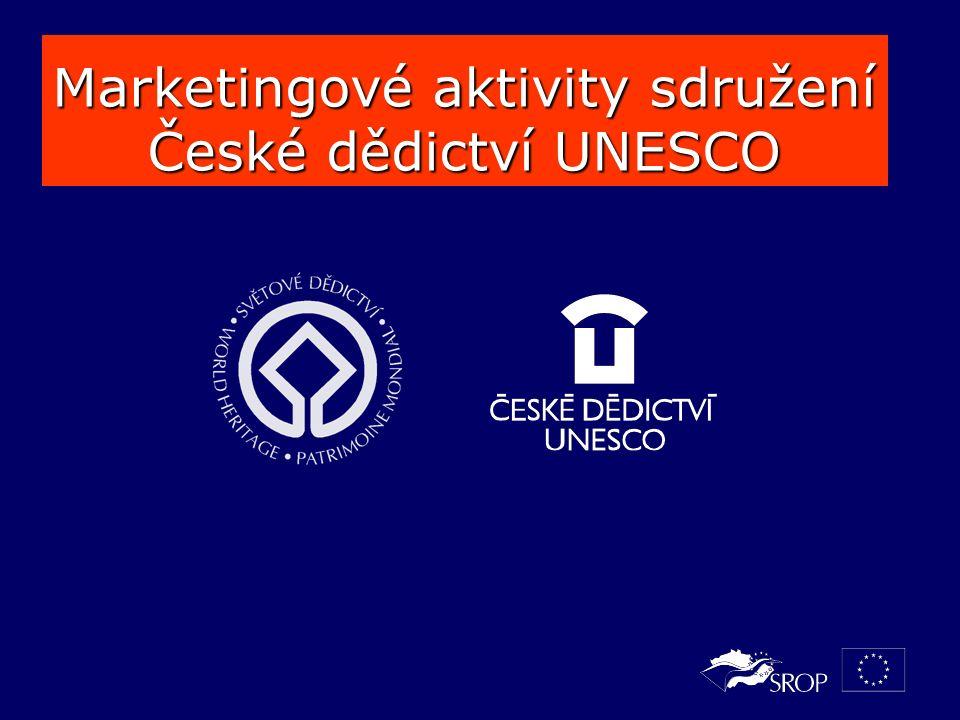 Marketingové aktivity sdružení České dědictví UNESCO