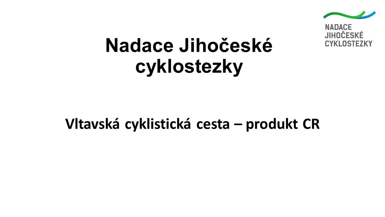 Nadace Jihočeské cyklostezky Vltavská cyklistická cesta – produkt CR