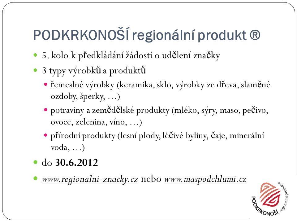PODKRKONOŠÍ regionální produkt ® 5.