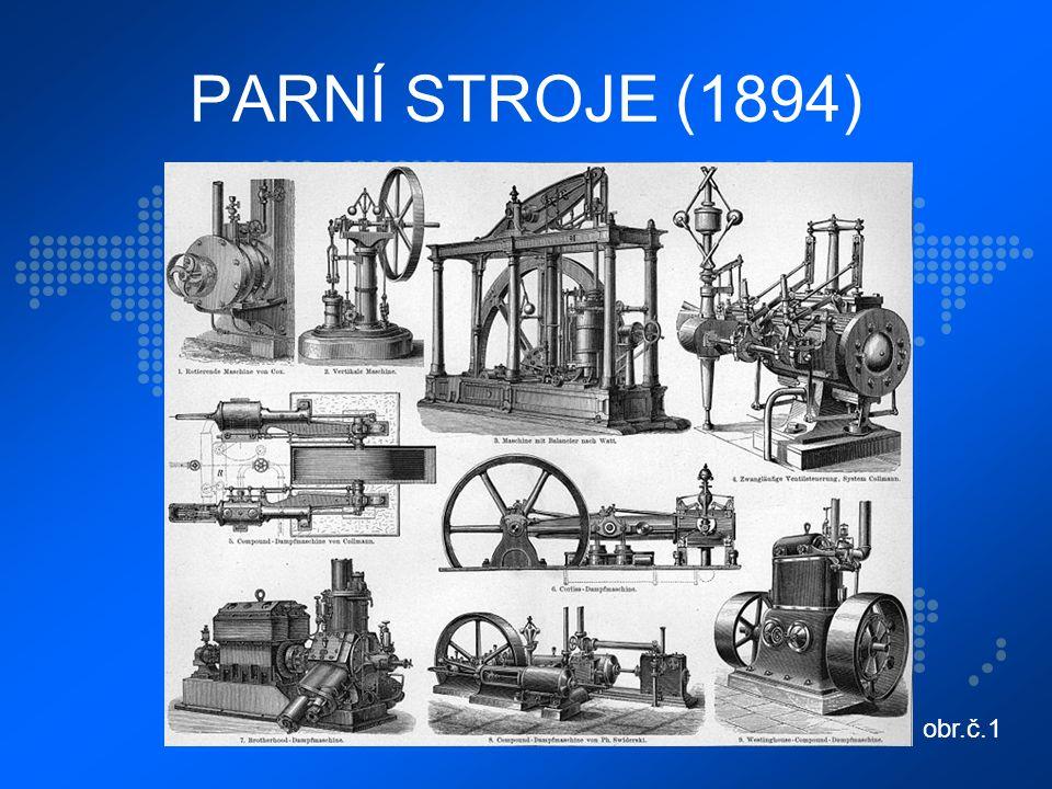 PARNÍ STROJE (1894) obr.č.1