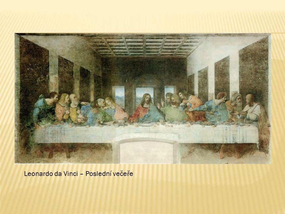 Leonardo da Vinci – Poslední večeře
