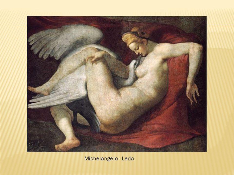 Michelangelo - Leda