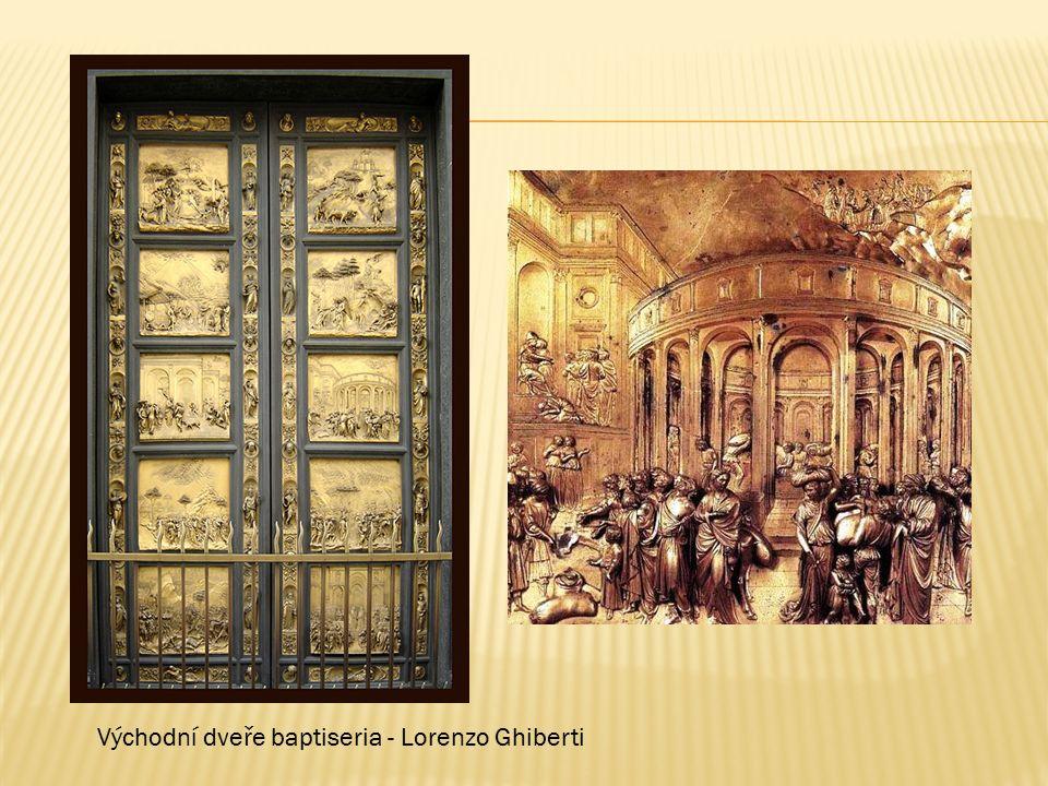 Východní dveře baptiseria - Lorenzo Ghiberti