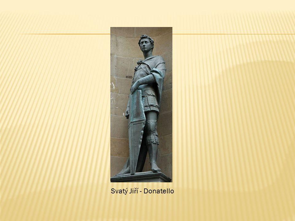 Svatý Jiří - Donatello