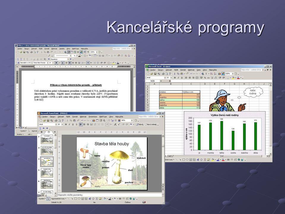Kancelářské programy