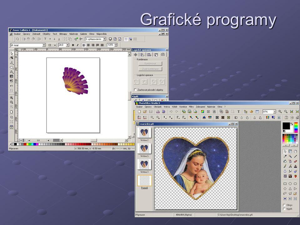 Grafické programy