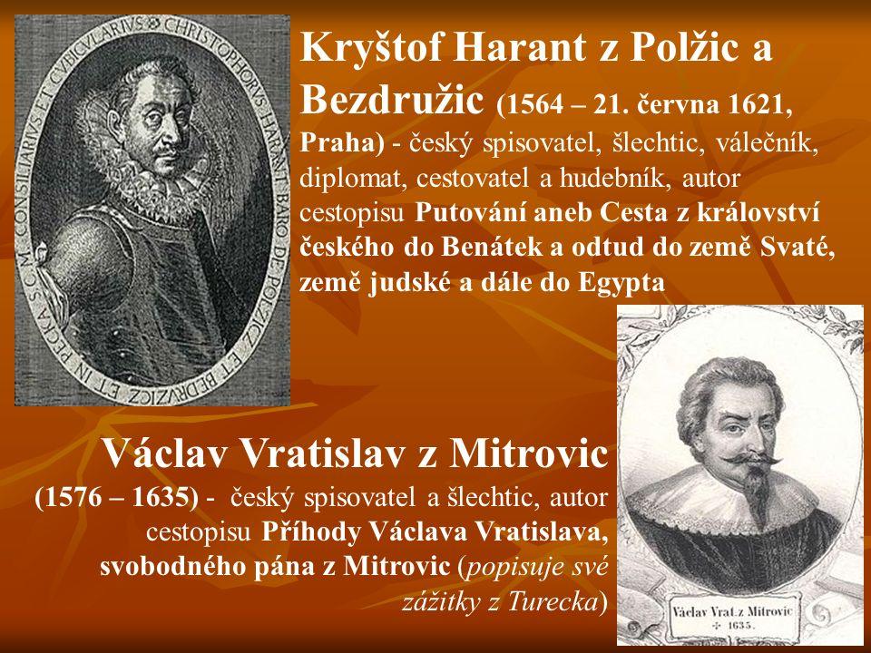 Kryštof Harant z Polžic a Bezdružic (1564 – 21.