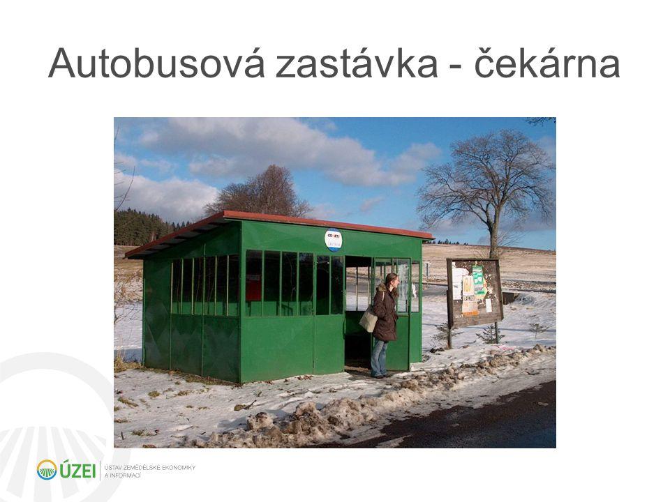 Autobusová zastávka - čekárna